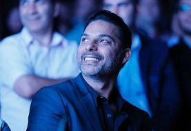 پیمان معادی جایزه ویژه جشنواره فیلم استکلهم را دریافت میکند