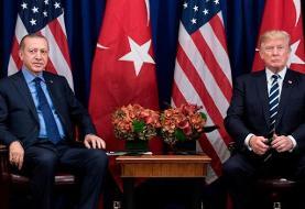 نامه ترامپ به اردوغان: احمق نباش!