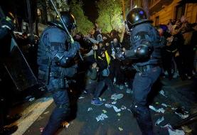بازگشت ناآرامی به خیابانهای کاتالونیا؛ اختلافات سیاسی مادرید و بارسلون تشدید شد