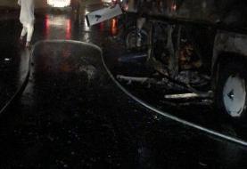 تصاف اتوبوس عمرهگذاران در مدینه/ ۳۰ کشته و ۵ زخمی (+عکس)
