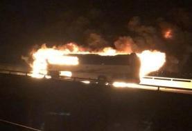 حادثه هولناک برای اتوبوس حجاج در مدینه؛ ۳۰ نفر کشته شدند