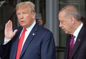اردوغان نامه ترامپ را به سطل آشغال انداخت