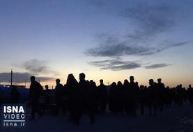 آسمان صاف عتبات در آستانه اربعین/خنک شدن هوای شهرهای مرزی کشور