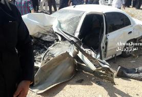 نماینده اهواز بعد از تصادف: آسیبی ندیدهام