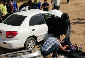 جزئیات تصادف خودروی نماینده اهواز در چذابه