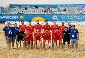 فوتبال ساحلی ایران به دنبال سومین قهرمانی در جام بین قارهای
