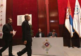 لاریجانی با «دیپلماسی پارلمانی» به کمک دولت آمد/ روزهای شلوغ در بلگراد