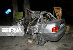 سانحه رانندگی در جاده روانسر به کرمانشاه/ ۳ نفر کشته شدند