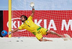پیمان حسینی در بین ۱۰ اسطوره فوتبال ساحلی