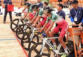 ششمی جوانان ایران در تعقیبی تیمی دوچرخهسواری قهرمانی آسیا