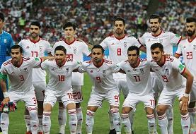 سقوط  ملی پوشان ایرانی در رتبه بندی جدید فدراسیون بین المللی فوتبال