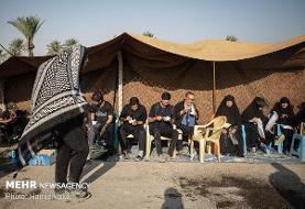 قدردانی نمایندگان جمهوری اسلامی از ۶۰۰ موکب دار عراقی