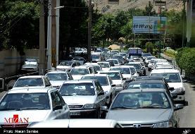 ترافیک نیمه سنگین در محور مهران به ایلام