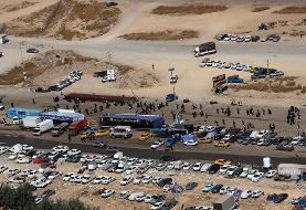 پلیس: ۹۷ درصد زائران از مرز زمینی به عتبات عالیات رفتند؛ ۳ درصد از راه هوایی