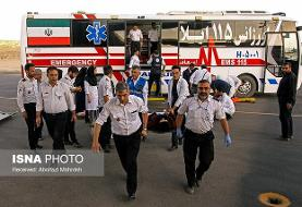 اعزام ۱۰ بیمار بستری شده در بیمارستان الحسین به مرز مهران + اسامی