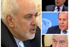 گفتوگوی تلفنی ظریف با وزرای خارجه عراق، روسیه و سوریه