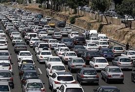 ترافیک پرحجم در مسیر بازگشت زوار/ یکطرفه شدن مهران به ایلام از امروز