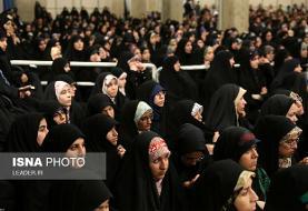 امروز و همزمان با اربعین حسینی؛ عزاداری دانشجویان در محضر رهبر معظم انقلاب