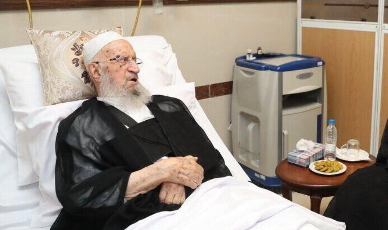 آیتالله مکارم شیرازی به منظور تکمیل روند درمان بیماری گوارشی و استراحت بیشتر از بیمارستان مرخص شد