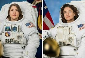 اولین پیادهروی فضایی کاملا زنانه ۲ دو فضانورد آمریکایی