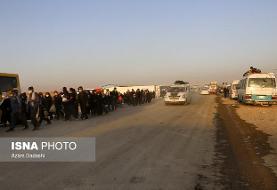 بعدازظهر محور مهران ـ ایلام یک طرفه میشود/ترافیک پرحجم در مسیرهای بازگشت زوار اربعین