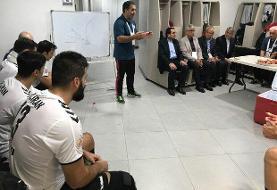 پاداش رئیس کمیته ملی المپیک به بازیکنان تیم ملی هندبال