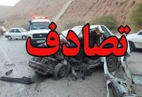 ۲ کشته در تصادف جاده یاسوج به اصفهان
