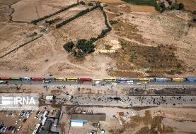 یک طرفه شدن جاده  مهران به ایلام
