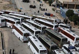 محدودیت تردد اتوبوسها از بامداد شنبه به مقصد چهار مرز کشور