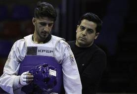 سروش احمدی به نیمه نهایی صعود کرد/میرهاشم حذف شد