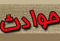 مصدومیت ۲۰ زائر بر اثر واژگونی اتوبوس در کرمانشاه