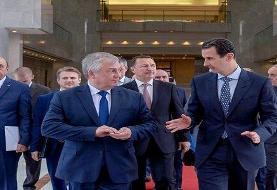 تاکید اسد بر توقف تجاوز ترکیه و لزوم خروج نیروهای آمریکایی و ترکیهای از سوریه