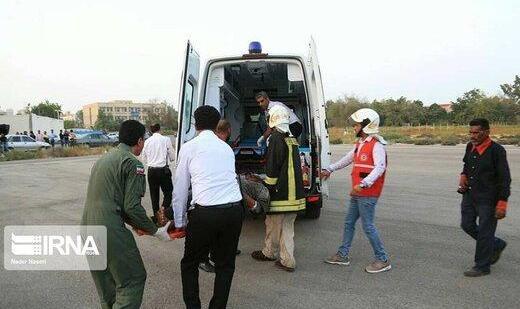 ۱۵ زائر ایرانی حادثه واژگونی خودروی «ون» در خانقین عراق به ایران منتقل شدند