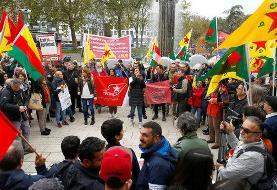 راهپیمایی در کلن آلمان علیه عملیات ترکیه در شمال سوریه
