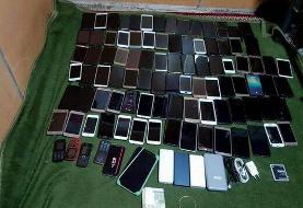 بازداشت یک زن پس از سرقت ۹۶ دستگاه موبایل زائران اربعین