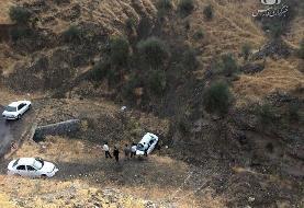 سقوط «پراید» به دره جان یک نفر را گرفت