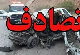 واژگونى پژو ٤٠٥ در محور خاش - سراوان/ ۱۱ کشته و مصدوم