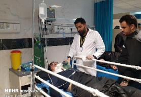 اعزام ۱۰ بیمار از بیمارستان الحسین به مرز مهران