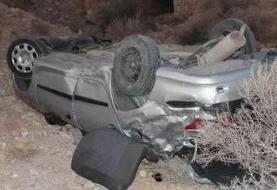 خودروی حامل قاچاق انسان دچار حادثه شد!