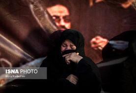 راهپیمایی جاماندگان اربعین حسینی - تهران (عکس)