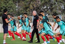 آخرین تمرین تراکتوریها قبل از سفر به مازندران برگزار شد