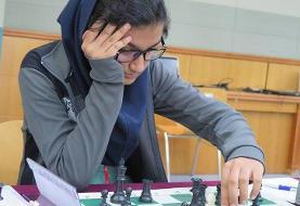 دختر ایرانی صدرنشین مسابقات شطرنج قهرمانی جوانان جهان شد