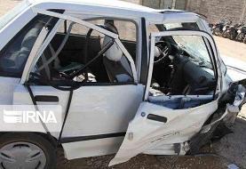 خوابآلودگی راننده پراید، ۲ زائر را به کشتن داد/ ۸ نفر مصدوم شدند+اسامی