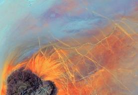 تصاویر حیرتانگیز ناسا از یخچالها و دریاچهها