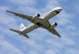 فرود اضطراری هواپیمایی در روسیه به دلیل تهدید بمبگذاری