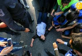 تظاهرات در باکو؛ پلیس رهبر مخالفان را آزاد کرد