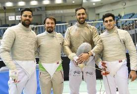ترکیب تیم سابر ایران در جام جهانی مصر/ قاهره ایستگاه پایانی برای رسیدن به سهمیه تیمی المپیک