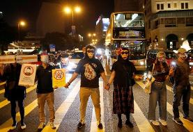 Hong Kong protest leaders urge turnout for march, despite risk of arrest