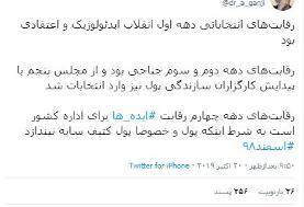 عبدالله گنجی رقابتهای انتخاب مجلس را بررسی میکند