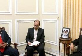 لاریجانی: روابط دوجانبه ایران و آفریقای جنوبی نیازمند جهش در حوزه اقتصادی است